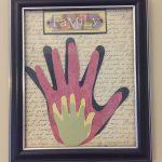 Family Hand Wall Decor